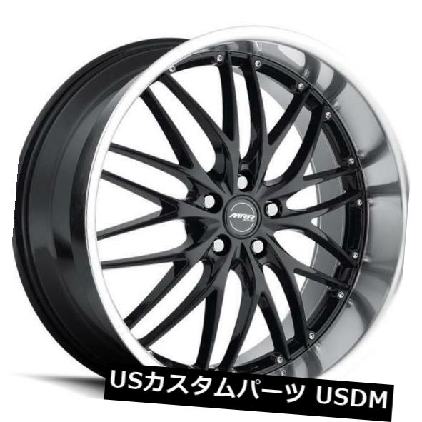 激安大特価! 海外輸入ホイール 22x9 Wheels MRR GT1 5x112 +40ブラックホイール(4個セット) of 22x9 MRR GT1 22x9 5x112 +40 Black Wheels (Set of 4), フィッシングショップ風月堂:d2546af4 --- hafnerhickswedding.net