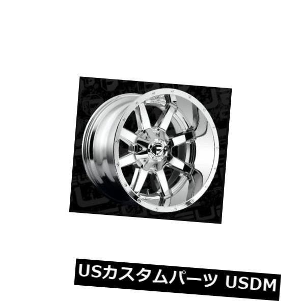 車用品 バイク用品 >> タイヤ ホイール 海外輸入ホイール 22x12フューエルD536 8x6.5 ET-44クロームホイール 4個セット Set FUEL Wheels of 売却 配送員設置送料無料 D536 ET-44 Chrome 4 22x12