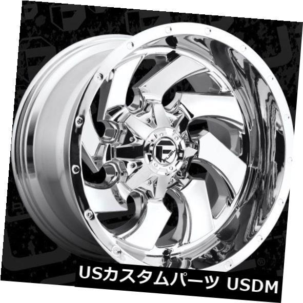 車用品 バイク用品 >> タイヤ ホイール 倉 海外輸入ホイール 22x12フューエルD573 8x6.5 ET-44クロームホイール 4個セット ET-44 Set 2020A/W新作送料無料 of FUEL D573 Chrome 4 Wheels 22x12