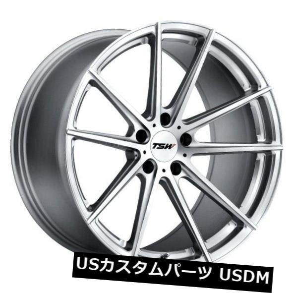 【おしゃれ】 海外輸入ホイール Rims 21x10 TSWバサースト5x120リム+35シルバーホイール(4個セット) Silver 21x10 +35 TSW Bathurst 5x120 Rims +35 Silver Wheels (Set of 4), 中島町:30950156 --- hafnerhickswedding.net