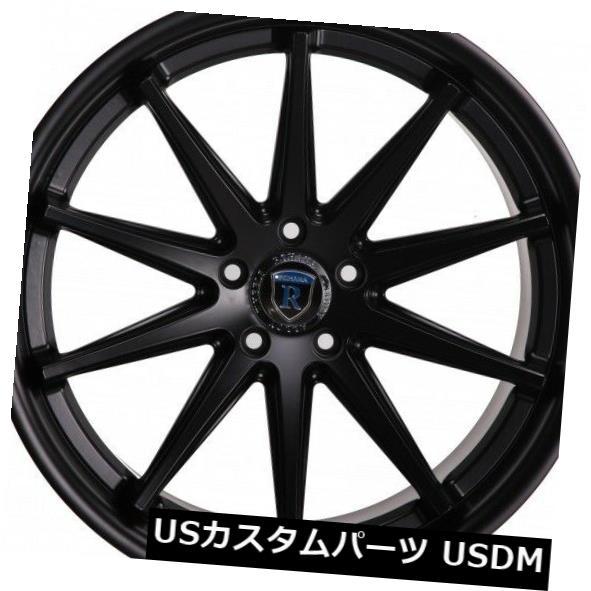 ファッション 海外輸入ホイール Rohana of (set RC10 20x10 Wheels 5x112 et33マットブラックホイールリム(4個セット) Rohana RC10 20x10 5x112 et33 Matte Black Wheels Rims (set of 4), 後月郡:a5dce8f5 --- gerber-bodin.fr