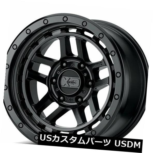 海外輸入ホイール 4Rims 17x8.5 XD Wheels XD140 Recon Satin Black Off Road Rims AD 4Rims 17x8.5 XD Wheels XD140 Recon Satin Black Off Road Rims AD