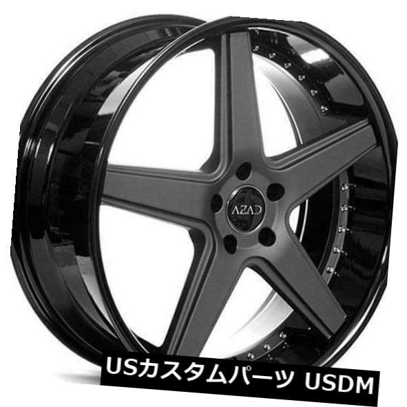 最新な 海外輸入ホイール Black 22 Rims