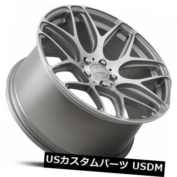 【最安値に挑戦】 海外輸入ホイール 20x10 MRR GF9 5x114.3 +40シルバーホイール(4)の新しいセット 20x10 MRR GF9 5x114.3 +40 Silver Wheels New Set of (4), mirco-shop ab1c4937