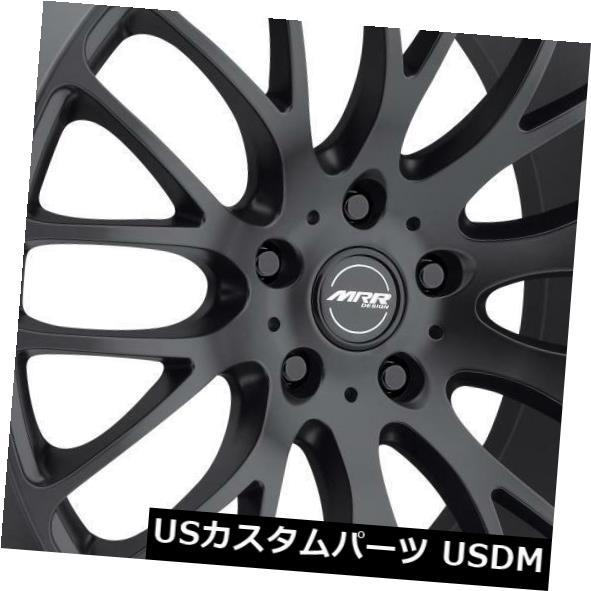海外輸入ホイール MRR HR6 20x9 5x114.3マットブラックホイールリム(4個セット) MRR HR6 20x9 5x114.3 Matte Black Wheels Rims (Set of 4)