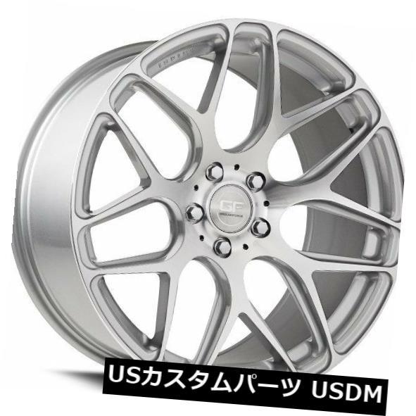 雑誌で紹介された 海外輸入ホイール 20x10 (Set MRR +40 GF9 5x114.3 4) +40シルバーホイール(4個セット) 20x10 MRR GF9 5x114.3 +40 Silver Wheels (Set of 4), KULALASHOP:7e69312b --- acumenff.com
