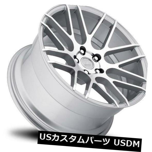 海外輸入ホイール 18x9 MRR GF7 5x120 +40シルバーホイールの新しいセット(4) 18x9 MRR GF7 5x120 +40 Silver Wheels New Set of (4)