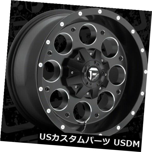 人気の 海外輸入ホイール 20x9 Fuel D525 20x9 & Revolver Rims 8x170 ET20 Black & Milled Rims (Set of 4), etsuka international:7f9c71eb --- lms.imergex.tech