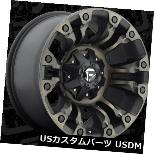 海外輸入ホイール 18x9 Fuel D569 Vapor 6x135 / 6x139.7 ET19 Black Machined Tint Rims(4個セット) 18x9 Fuel D569 Vapor 6x135/6x139.7 ET19 Black Machined Tint Rims (Set of 4)