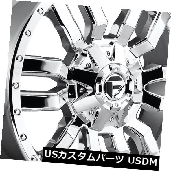 海外ブランド  海外輸入ホイール 20x9燃料D631スレッジ6x135 / 6x139.7 ET20クロームホイール(4個セット) 20x9 Fuel D631 Sledge 6x135/6x139.7 ET20 Chrome Wheels (Set of 4), ARC Tokyo-Bay 217b0af1