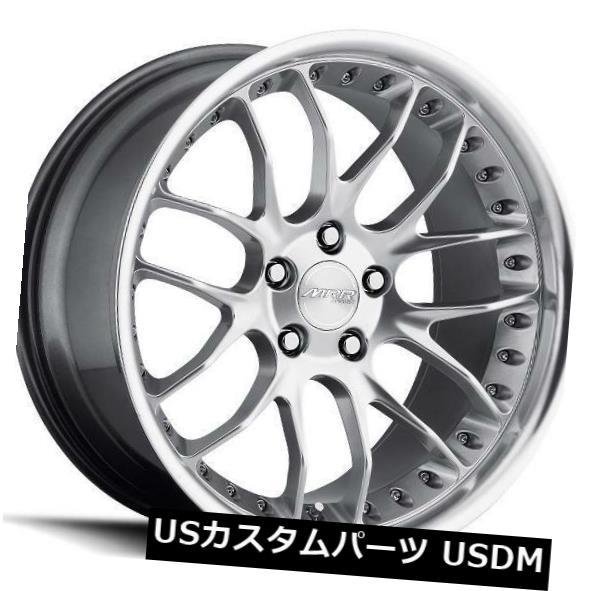 最新デザインの 海外輸入ホイール 20x10 MRR GT7 5x114.3 +40ハイパーシルバーホイール(4個セット) 20x10 MRR GT7 5x114.3 +40 Hyper Silver Wheels (Set of 4), はぐまむ hugmamu aa146ff2