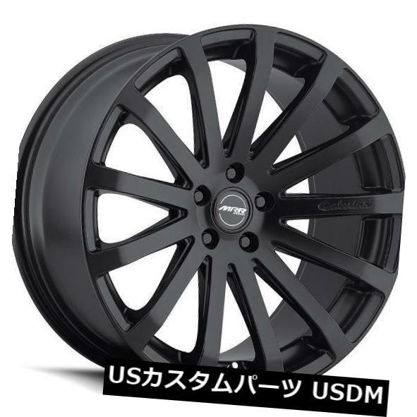 結婚祝い 海外輸入ホイール 20x9.5 MRR HR9 5x114.3 +40マットブラックホイール(4個セット) 20x9.5 MRR HR9 5x114.3 +40 Matte Black Wheels (Set of 4), ナカツシ 87472e23