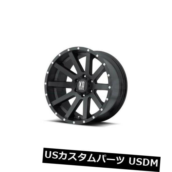 消費税無し 海外輸入ホイール KMCリムHEIST 6x139.7 of ET-24サテンブラックリム(4個セット)による20x10 Rims XDシリーズ XD 20x10 XD SERIES BY KMC Rims HEIST 6x139.7 ET-24 Satin Black Rims (Set of 4), マワールドshop:335ad537 --- estoresa.co.za