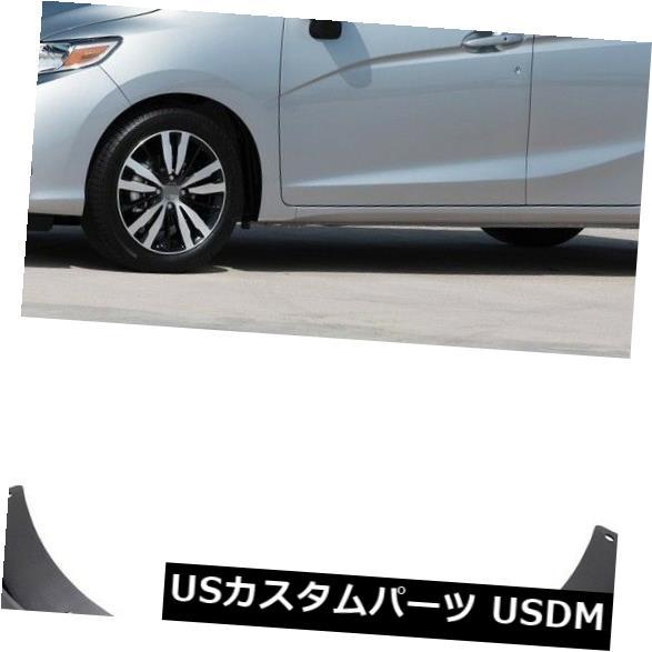 マッドガード 泥除け 車マッドガードフェンダーマッドフラップスプラッシュガードキットフィット2018 2019アップホンダJAZZ Car Mudguard Fender Mud Flaps Splash Guard Kit fit for 2018 2019-Up Honda JAZZ