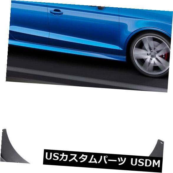 マッドガード 泥除け 1セット車の泥フラップスプラッシュガードマッドガードフェンダー用2015-2019アウディS3セダン 1Set Car Mud Flaps Splash Guards Mudguard Fender for 2015-2019 Audi S3 Sedan
