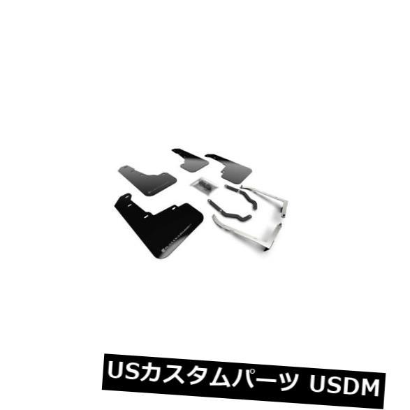 マッドガード 泥除け ラリーアーマーブラックURマッドフラップ付18+ XV Crosstrek Lift / AT用シルバーロゴ Rally Armor Black UR Mud Flaps w/ Silver Logo for 18+ XV Crosstrek Lift/AT