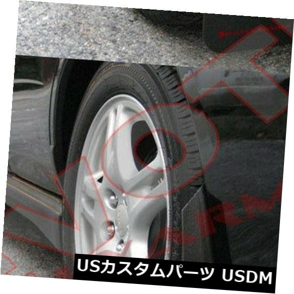 マッドガード 泥除け 02-07スバルインプレッサ4Doorセダンブラック用ラリーアーマーベーシックマッドフラップ Rally Armor Basic Mud Flaps For 02-07 Subaru Impreza 4Door Sedan Black