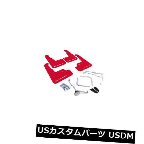 マッドガード 泥除け ラリーアーマーレッドマッドフラップホワイトロゴ15-19用スバルWRX / STI#MF32-UR-RD / WH Rally Armor Red Mud Flaps White Logo For 15-19 Subaru WRX/STI #MF32-UR-RD/WH