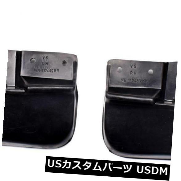 マッドガード 泥除け しぶきの監視ゴム製泥は三菱Triton L200 2.5Lトラック2005-14のために折り返します折り返します Splash Guard Rubber Mud Flaps Fit For Mitsubishi Triton L200 2.5L Truck 2005-14