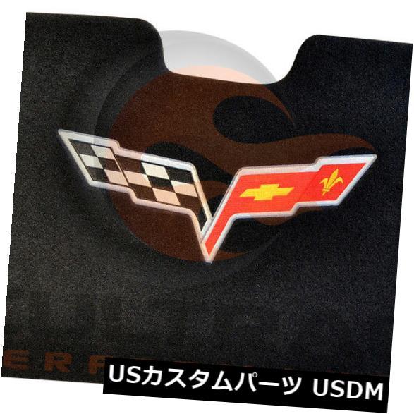 トリムパネル 2005-2013 C6コルベットコンバーチブルGMデッキリッドパネルC6フラッグロゴ12499967 2005-2013 C6 Corvette Convertible GM Deck Lid Trim Panel C6 Flag Logo 12499967