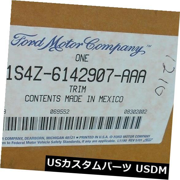 トリムパネル 新しい2000年 - 2007年フォードフォーカスセダントランクデッキカバーカバートリムパネル1S4Z-6142907-A  AA NEW 2000 - 2007 FORD FOCUS SEDAN TRUNK DECKLID COVER TRIM PANEL 1S4Z-6142907-AAA