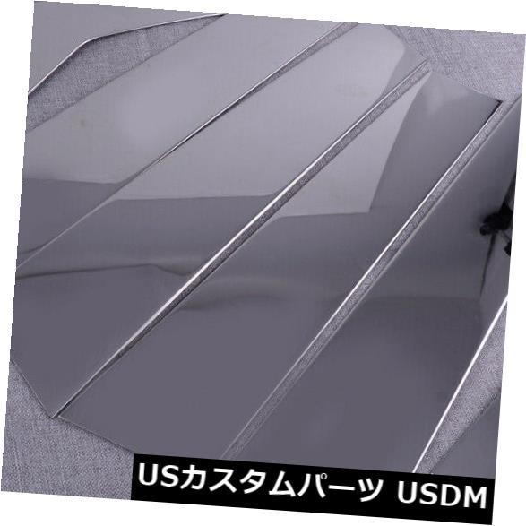 ドアピラー ホンダシビック2016-18のためのクロムドアの窓の柱のポストのトリムカバー鋳造物の適合 Chrome Door Window Pillar Post Trim Cover Molding Fit For Honda Civic 2016-18