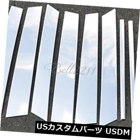 ドアピラー スバルアウトバック2015 2016年用ステンレス鋼窓柱ポストストリップカバートリム Stainless Steel Window Pillar Post Strip Cover Trim For Subaru Outback 2015 2016