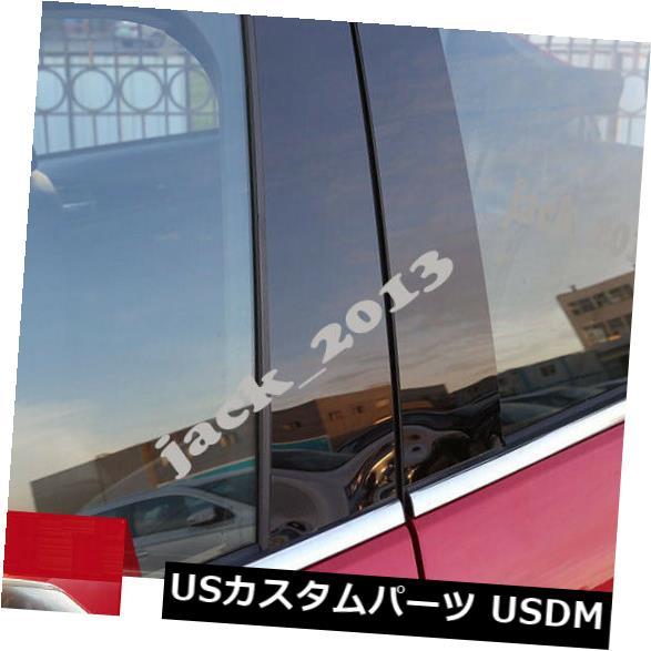 ドアピラー 三菱エクリプスクロス18のカーセンターウィンドウピラーポストフレームカバートリム Car Center Window Pillar Posts frame Cover Trim For Mitsubishi Eclipse Cross 18