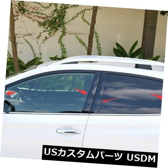 ドアピラー ステンレス鋼の窓の柱はスバルXV 2018-2019のために整えます Stainless steel Window Pillar Posts trim For Subaru XV 2018-2019