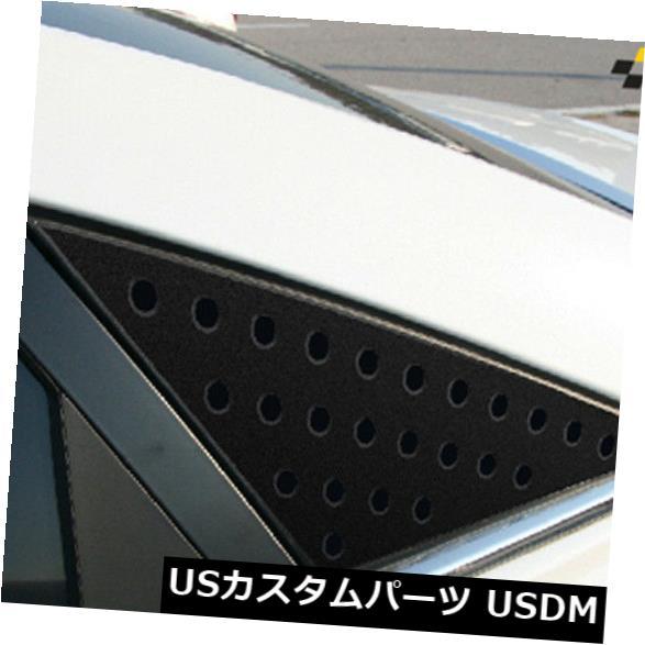 ドアピラー ヒュンダイYFソナタ2010?2013用ウィンドウブラックCピラーサークルプレートベーシックタイプ Window Black C Pillar Circle Plate Basic type For Hyundai YF Sonata 2010~2013