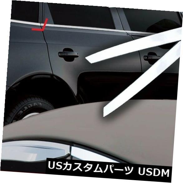 ドアピラー 16 Kiaオプティマ用ウィンドウリアCピラー成形クロームトリム2P:すべて新しいK5 Window Rear C Pillar Molding Chrome Trim 2P For 16 Kia Optima : All new K5