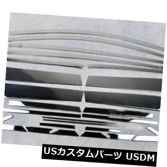 ドアピラー 2013-2015トヨタRAV4全体セット鋼22pc用窓柱成形カバートリム Window Pillars Molding Cover Trim for 2013-2015 Toyota RAV4 Whole Set Steel 22pc