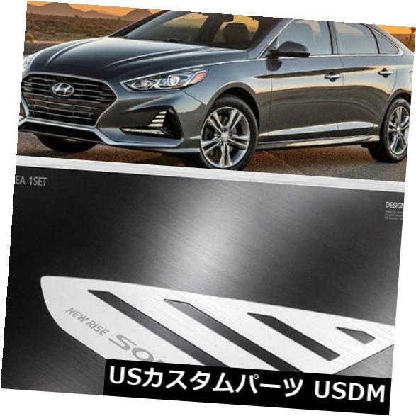 ドアピラー ヒュンダイソナタ2018用韓国DXSOAUTO Cピラーウィンドウプレートマスク Korea DXSOAUTO C Pillar Window Plate Mask for Hyundai Sonata 2018