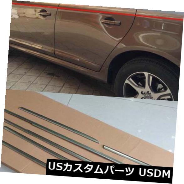 ドアピラー 2014-17ボルボXC60用ドアウィンドウセンターピラーカバートリムボトムフレームシル Door Window Center Pillars Cover Trim Bottom frame sill for 2014-17 Volvo XC60