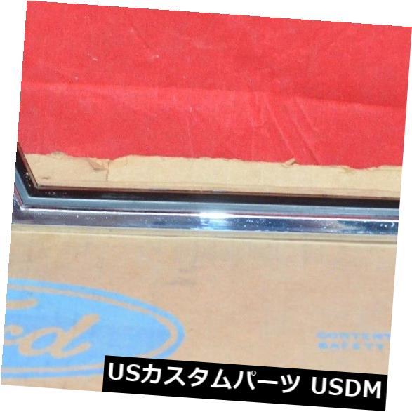 ドアピラー 1977-79フォードThunderbird RH C-ピラーウィンドウトリムモールディングパスサイドベゼルNOS OEM 1977-79 Ford Thunderbird RH C-Pillar Window Trim Molding Pass Side Bezel NOS OEM
