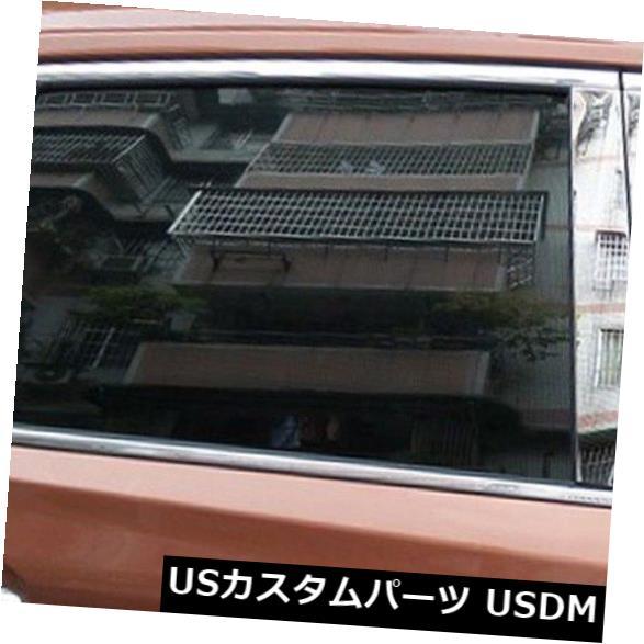 ドアピラー 日産ローグエクストレイルT32 2014-2018ステンレス製ウィンドウセンターピラーポストカバー For Nissan Rogue X-Trail T32 2014-2018 Stainless Window Center Pillar Post Cover