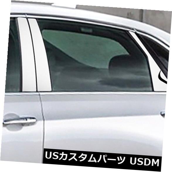 ドアピラー キャデラックCT6 2016-2017のための6xの磨く光沢があるクロム窓の中心の柱のトリム 6x Polishing Shiny Chrome Window Center Pillars Trim For Cadillac CT6 2016-2017