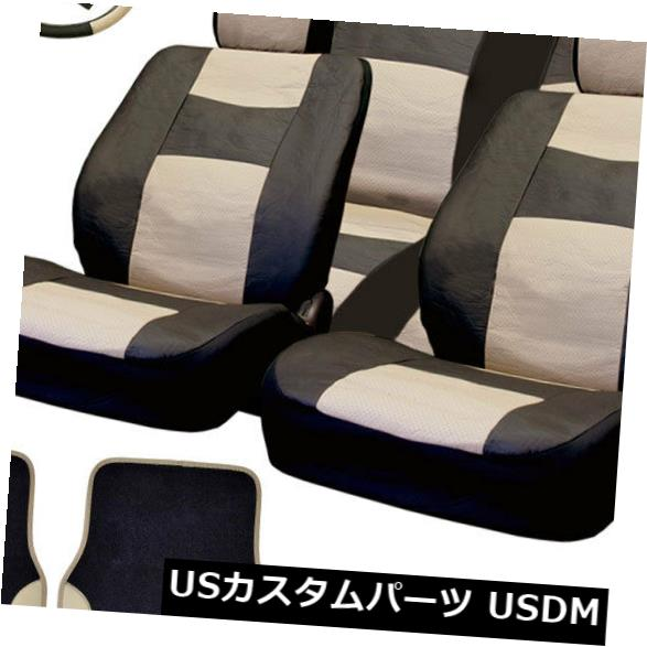 For Chevy New Semi Custom Syn Leather Seat Covers Split Seat Vinyl Mats BG Set