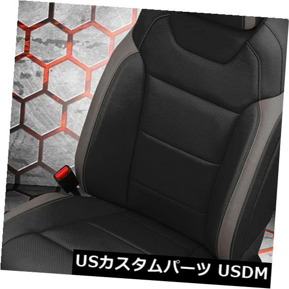 シートカバー 2017フォードF150ラプタースーパースクリューカッツキンカスタムレザーシート交換用カバー 2017 Ford F150 Raptor SuperCrew Katzkin Custom Leather Seat Replacement Covers