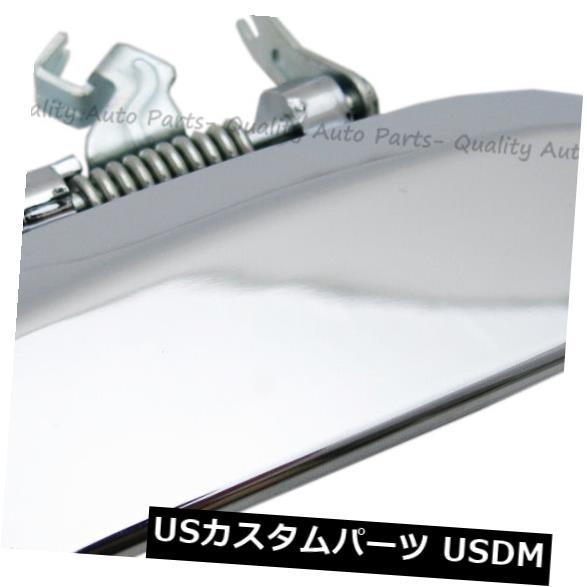 ドアノブ ドアハンドル 日産のパスファインダーのためのドアハンドルクロームリア左外部シルバーテールゲートハンドル Door Handle Chrome Rear Left Outer Silver Tailgate Handle For Nissan Pathfinder