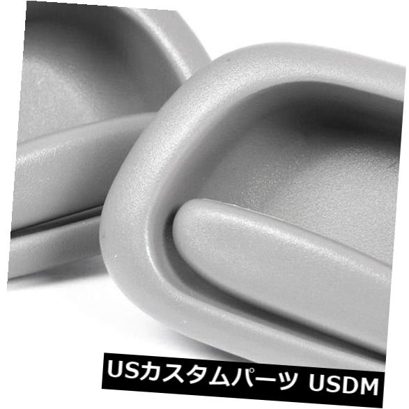 ドアノブ ドアハンドル トヨタカローラAE112 98?01用ペアLH + RHフロントまたはリアインナードアハンドル(グレー) Pair LH+RH FRONT or REAR INNER Door Handle (Grey) For Toyota Corolla AE112 98~01