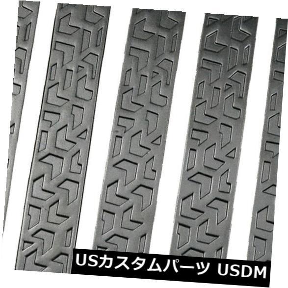 ドアノブ ドアハンドル ジープラングラーブラックのための5パックのドアハンドルテールゲートアルミトリムインサート 5pack Door Handle Tailgate Aluminum Trim Insert for Jeep Wrangler Black