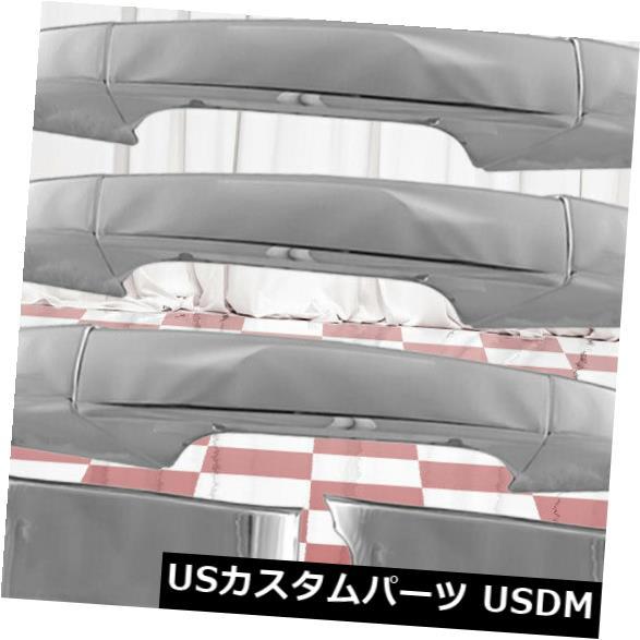 ドアノブ ドアハンドル 2007-2014シェビーシルバラード2500に合う4つのクロムドアハンドルカバーのセット Set of Four Chrome Door Handle Covers fit 2007-2014 Chevy Silverado 2500