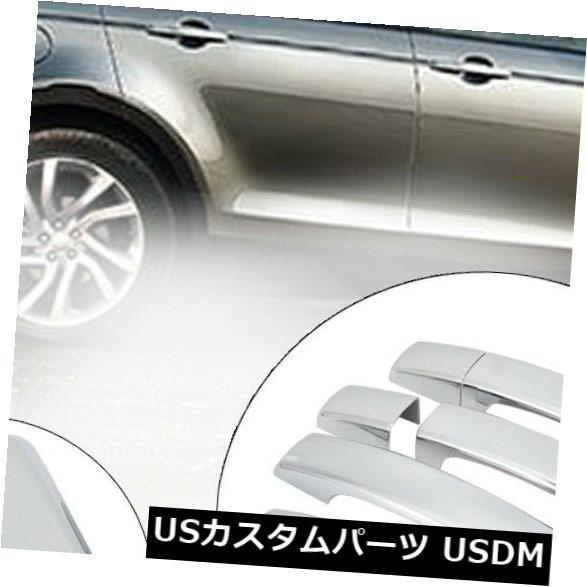 ドアノブ ドアハンドル 8本/セット車の光沢のある外装ドアハンドルカバーは発見のためにフィットを交換 8pcs/set Car Glossy Exterior Door Handle Cover Replace Fit For Discovery