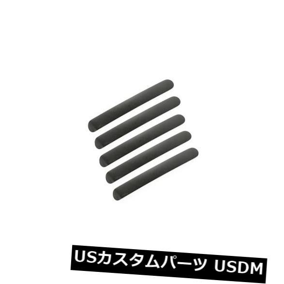 ドアノブ ドアハンドル ドアハンドルは黒4ドア07-17ジープラングラーJKU x 13311.43を挿入します Door Handle Inserts Black 4 Door 07-17 Jeep Wrangler JKU x 13311.43