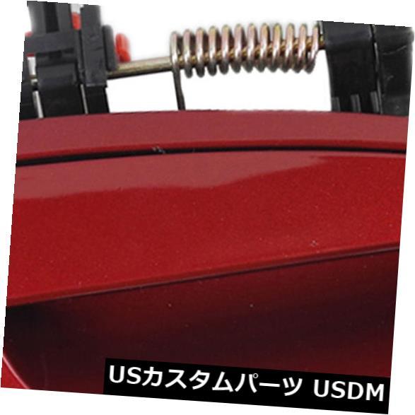 ドアノブ ドアハンドル 2002-06日産アルティマスカーレットレッドA20用エクステリアアウタードアハンドルリア右 Exterior Outer Door Handle Rear Right For 2002-06 Nissan Altima Scarlet Red A20