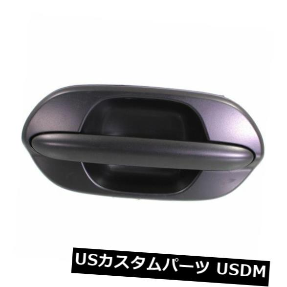 ドアノブ ドアハンドル Odyssey 99-04用、後部、運転席側ドアハンドル、ブラック、プラスチック For Odyssey 99-04. Rear. Driver Side Door Handle. Black. Plastic