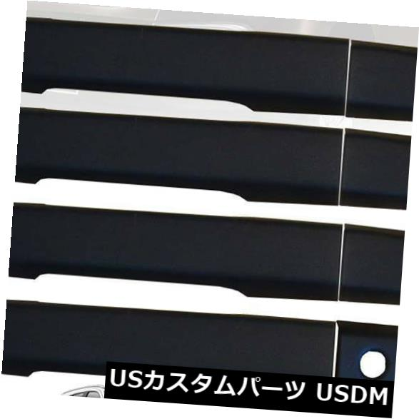 ドアノブ ドアハンドル カバードアハンドルマットマットブラック4ドアフィットフィットいすゞMU-X MUX 2012-2017 COVER DOOR HANDLE MATTE MATT BLACK 4 DOORS FIT FIT ISUZU MU-X MUX 2012-2017