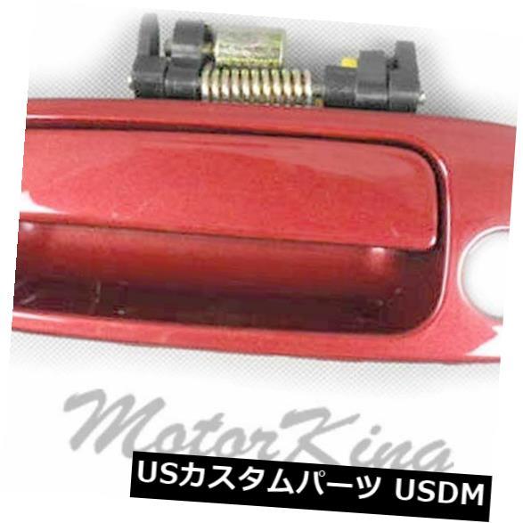 ドアノブ ドアハンドル 97 98-01トヨタカムリアウトサイドドアハンドルフロント左サファイアレッド3K4 B3919 For 97 98-01 Toyota Camry Outside Door Handle Front Left SUNFIRE RED 3K4 B3919