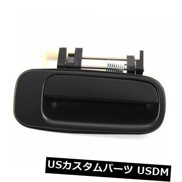 ドアノブ ドアハンドル Camry 92-96用、後部、助手席側エクステリアドアハンドル、ブラック、プラスチック For Camry 92-96. Rear. Passenger Side Exterior Door Handle. Black. Plastic